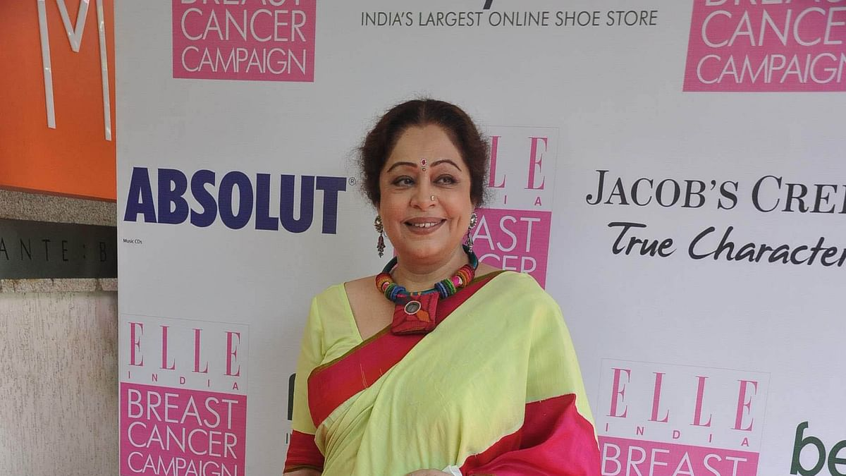 Actress Kirron Kher diagnosed with multiple myeloma, undergoing treatment
