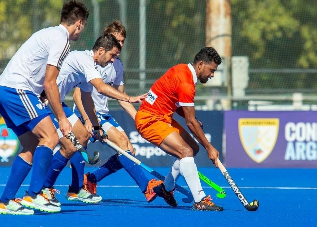Argentina beat India 1-0 in third practice match