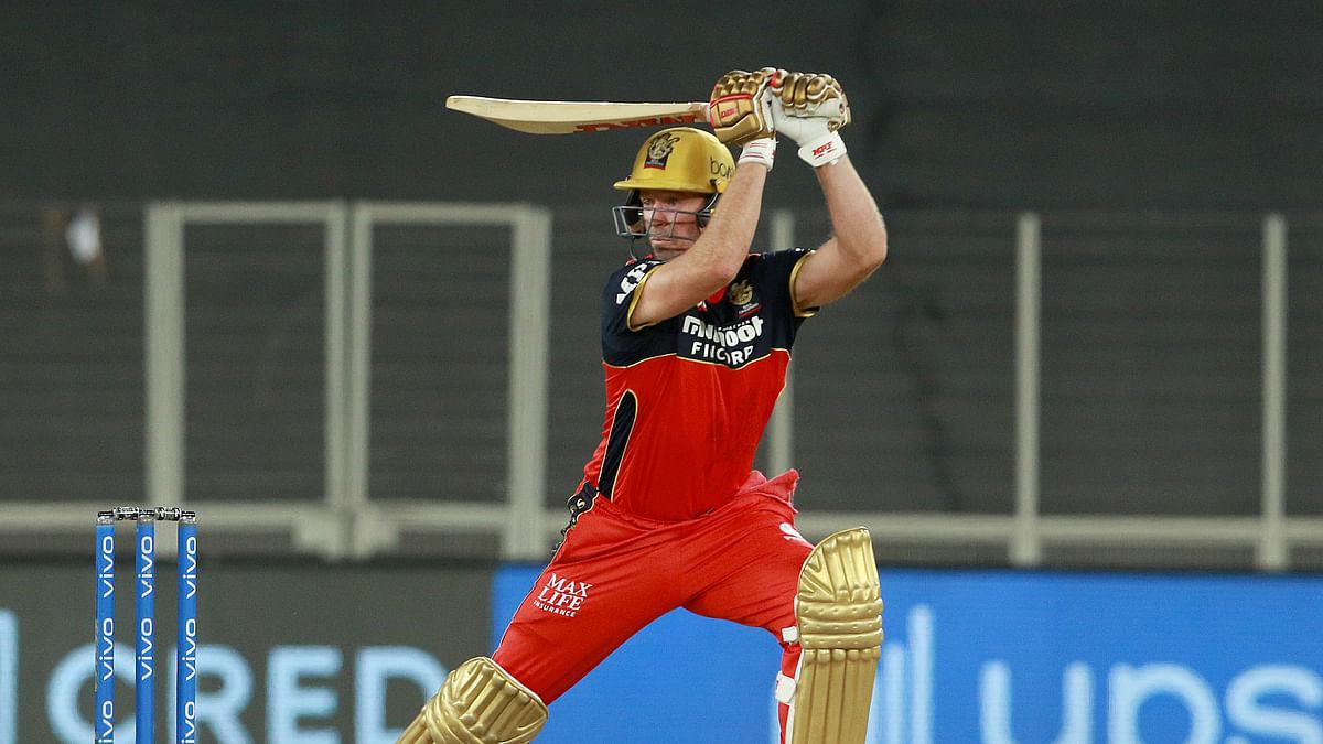 RCB ride on de Villiers's unbeaten 75, score 171/5 against DC