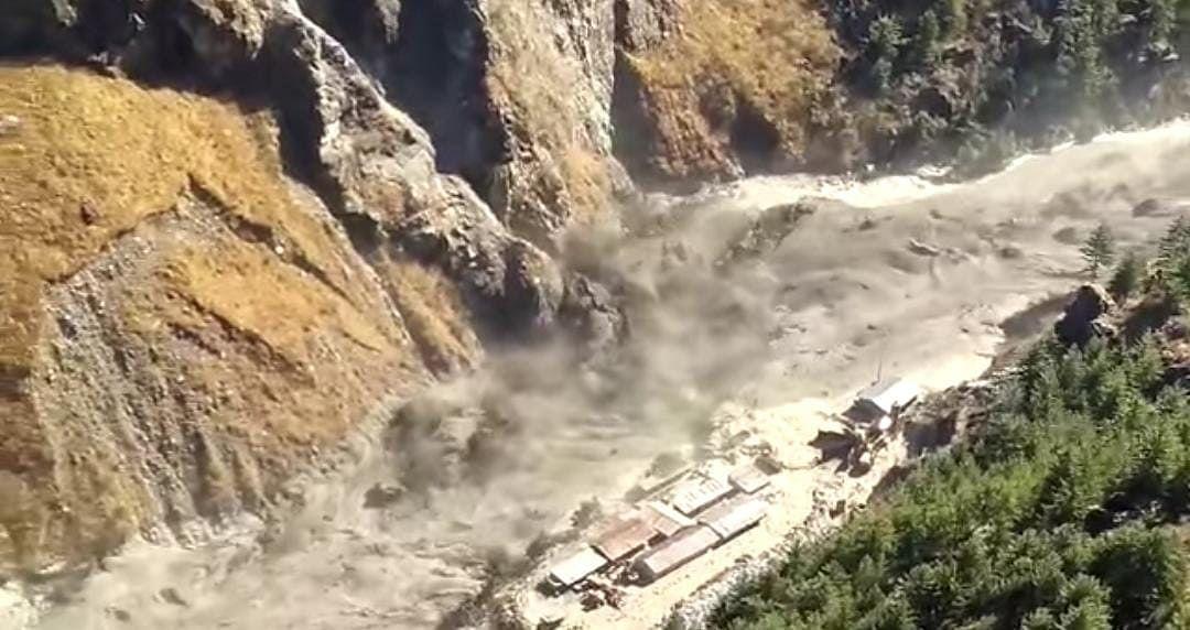 Glacier burst near India-China border in Uttarakhand, govt on high alert