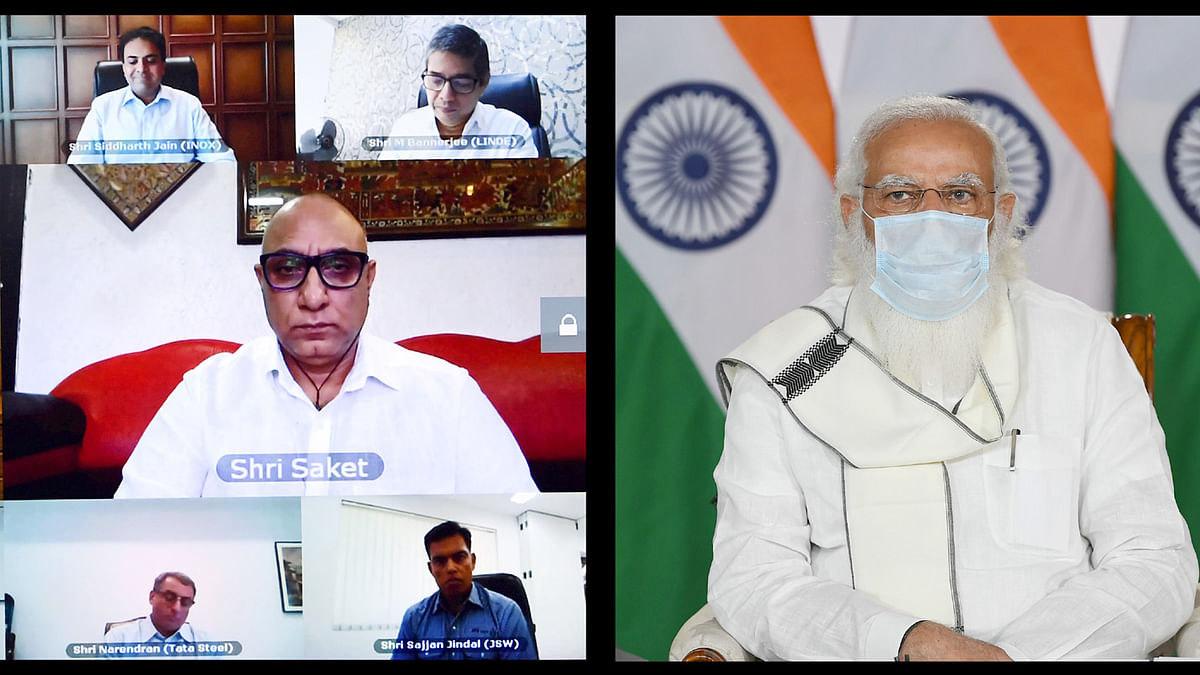 Modi interacts with oxygen producers amid COVID surge