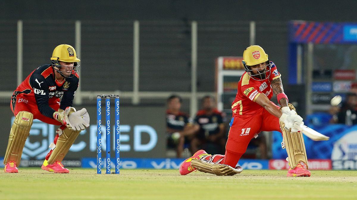 Rahul's unbeaten 91 takes Punjab Kings to 179/5 vs Royal Challengers Bangalore