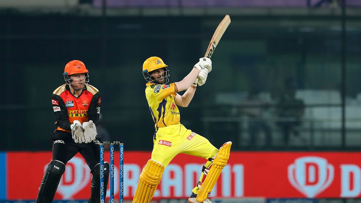 Gaikwad, du Plessis power CSK to big win over SRH
