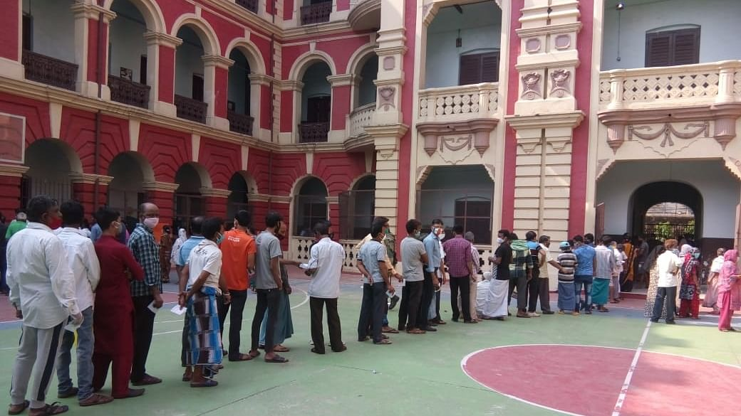 High turnout in first two hours in last phase of polling in Bengal elections