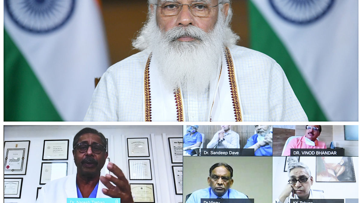 Modi lauds pharma industry, doctors and para-medics for their invaluable service during pandemic