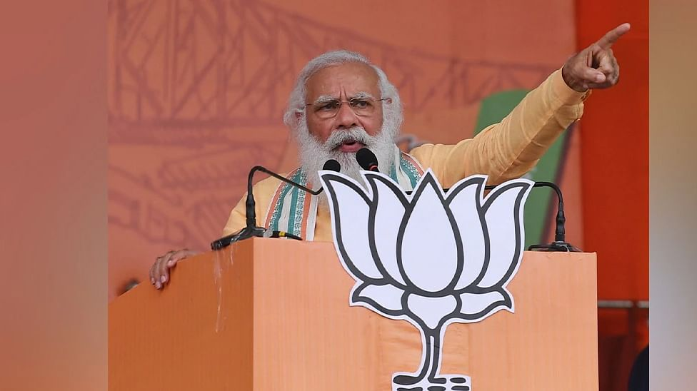 Cut-money culture, syndicate racket hindering Bengal's growth: Modi