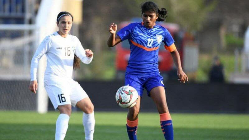 Football: Indian women's team concede late to lose to Uzbekistan