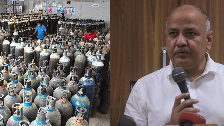 Oxygen stocks to last only next 8-12 hrs in many Delhi hospitals: Sisodia