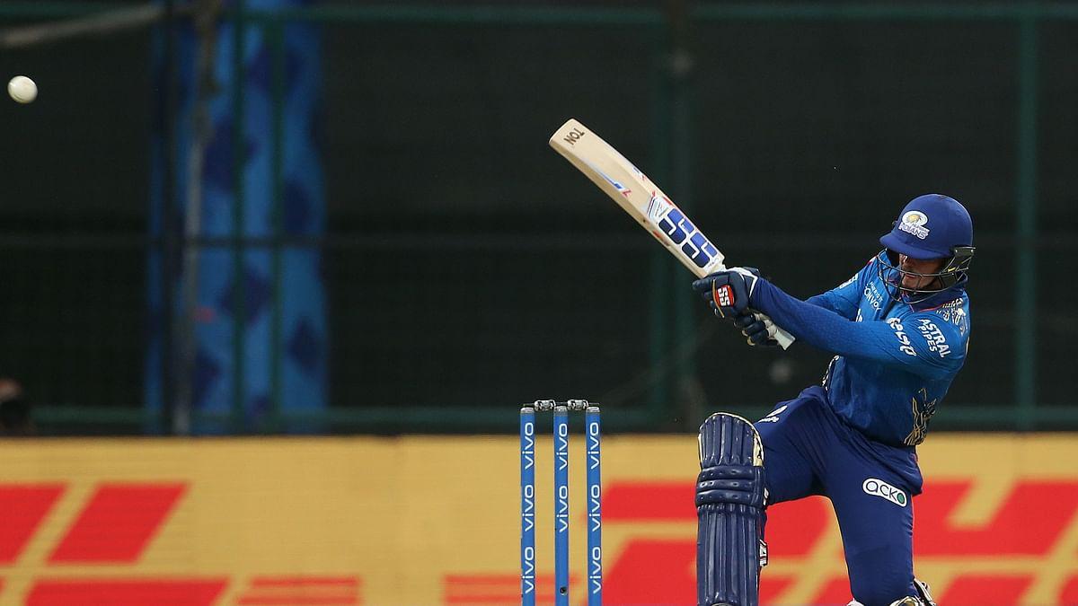 MI ride de Kock's unbeaten 70 to beat RR by seven wickets