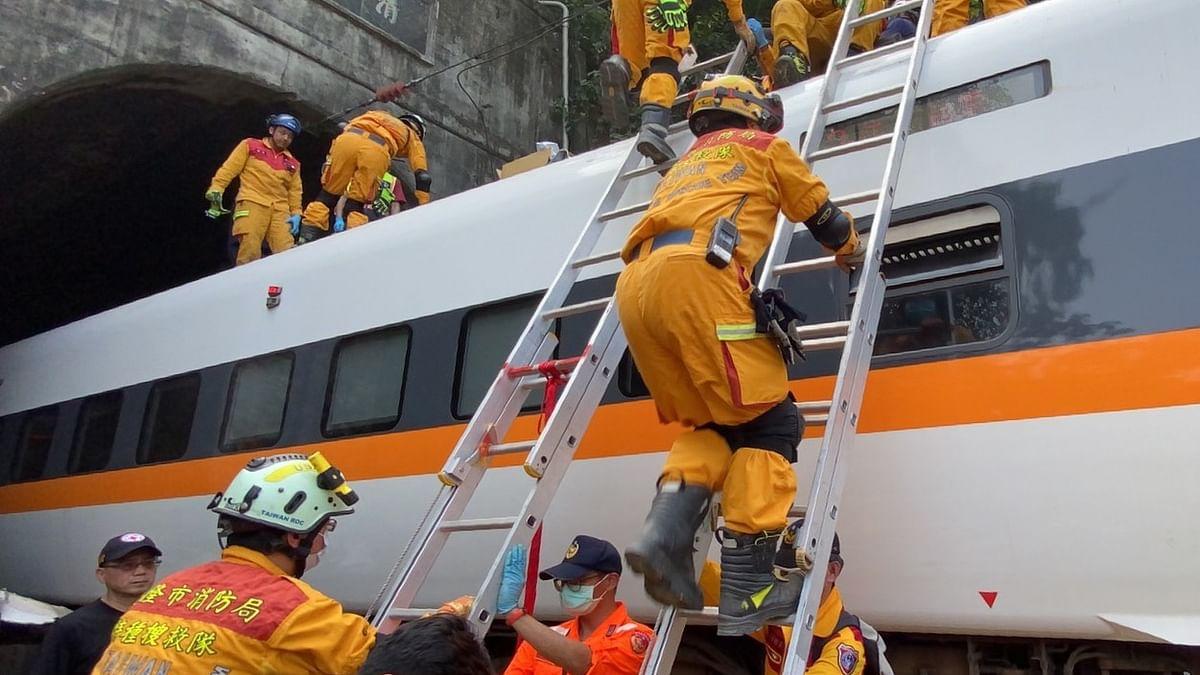 Deadly train derailment in Taiwan kills 48