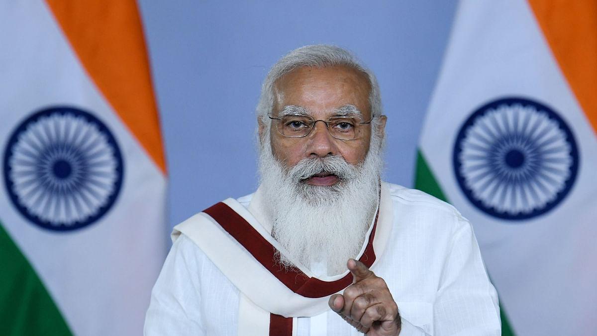 Modi launches distribution of e-property cards under Svamitva scheme