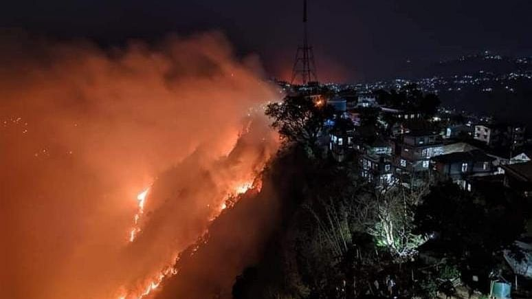 Modi talks to Mizoram CM, takes stock of forest fire situation