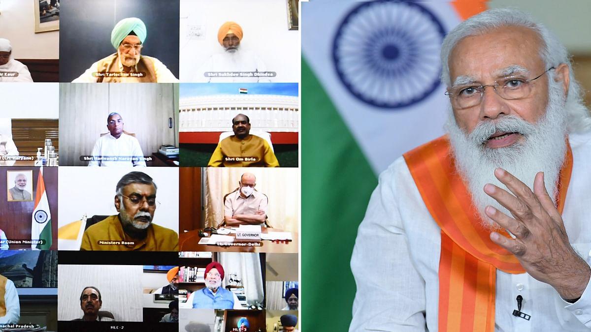 Modi chairs meeting on commemoration of 400th birth anniversary of Guru Tegh Bahadur