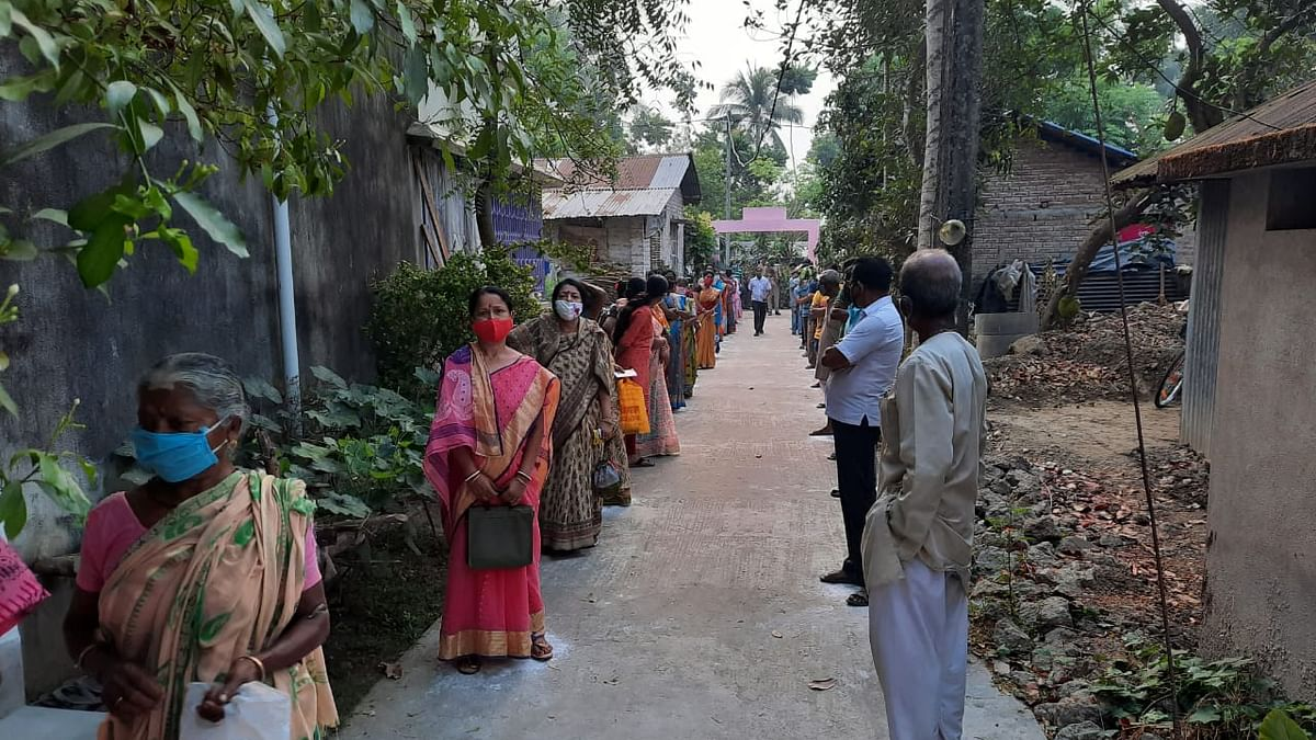 More than 79% polling in 6th phase of West Bengal Assembly elections