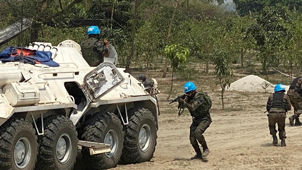 Multinational military exercise Shantir Ogrosena culminates in Bangladesh