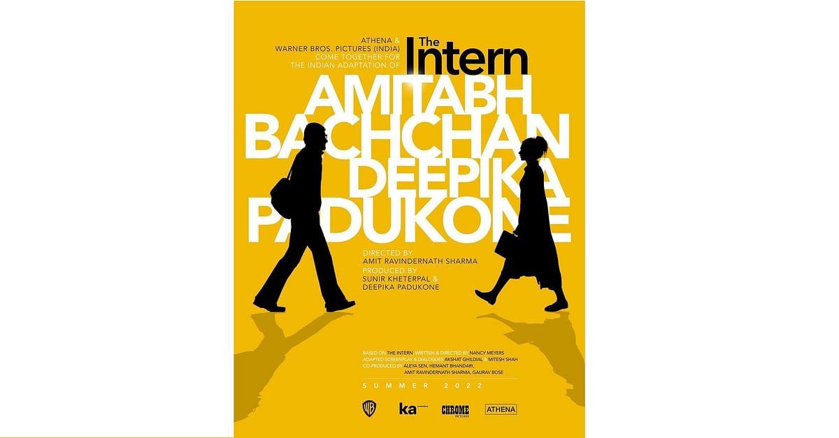 Big B to star with Deepika Padukone in 'The Intern' remake