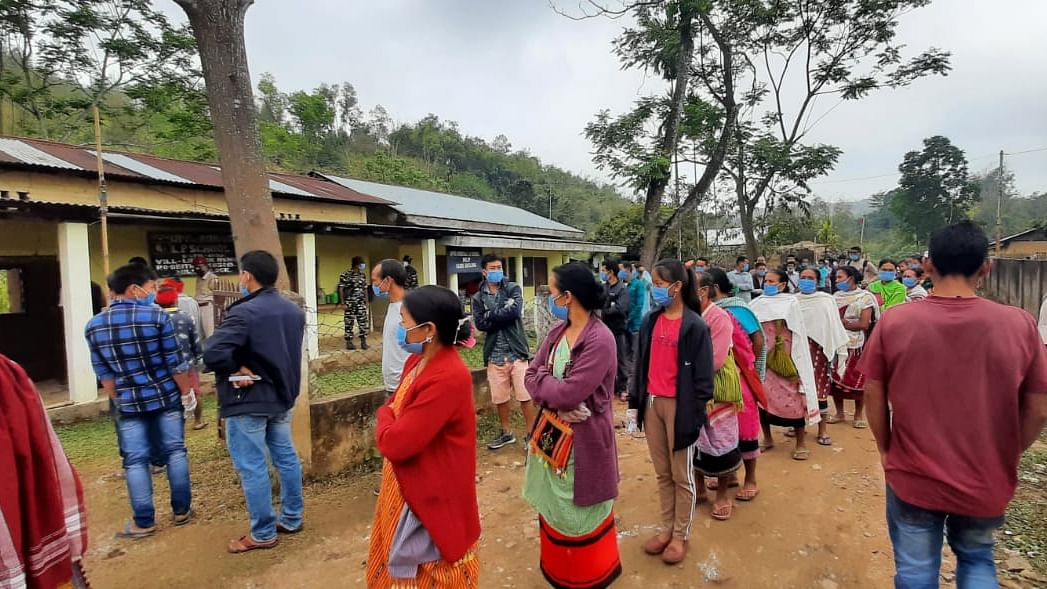 Polling underway in 2nd phase of Assembly elections in Assam, West Bengal