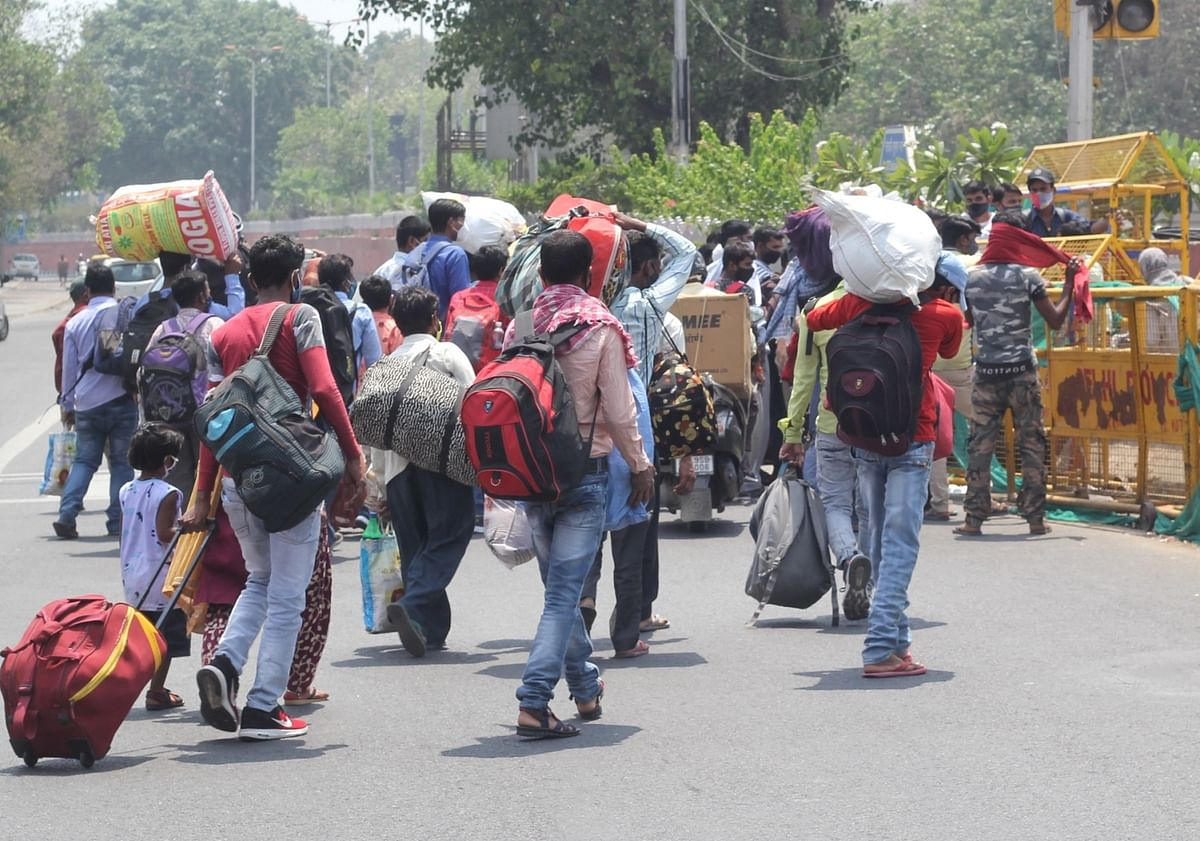 Provide dry ration, facilitate transportation for migrant workers in NCR: SC