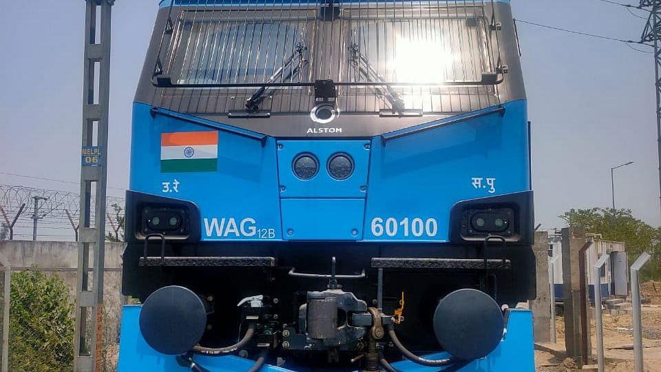 Indian Railways inducts 100th 12000 HP WAG 12 B Locomotive