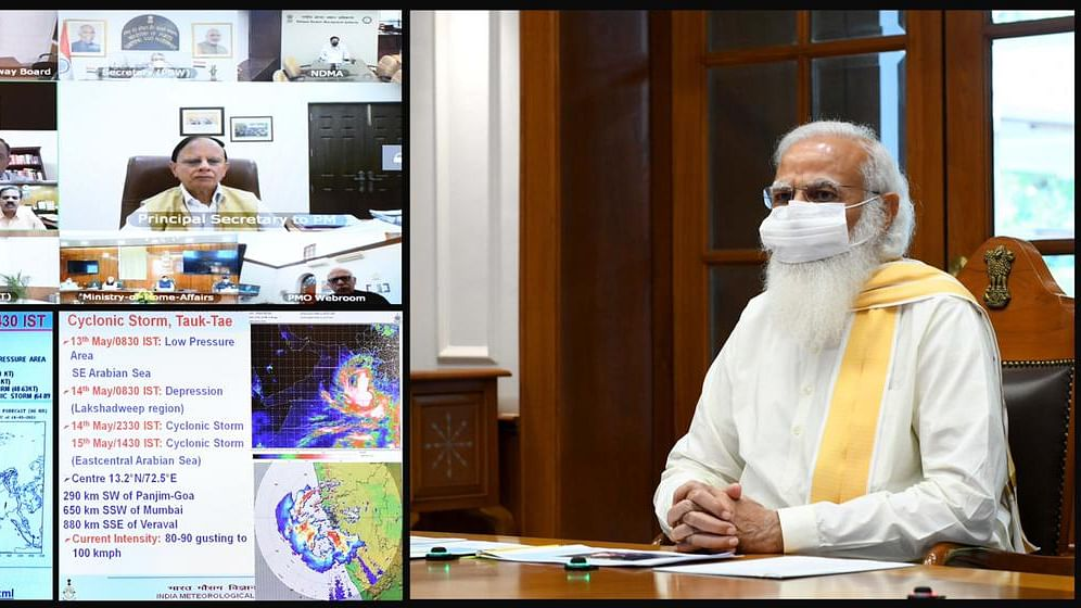 Modi reviews preparedness to deal with Cyclone Tauktae