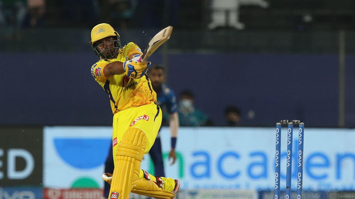 Rayudu's 72 off 27 balls powers CSK to 218/4