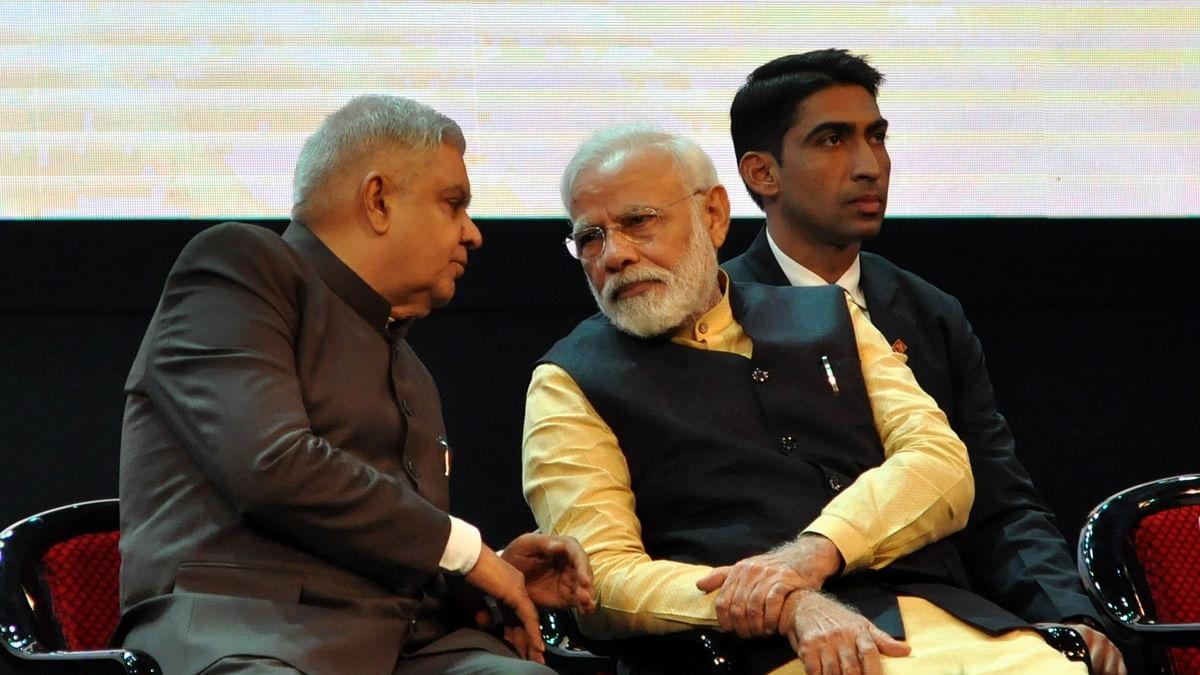 Modi speaks to Bengal Governor Dhankar over post-poll violence