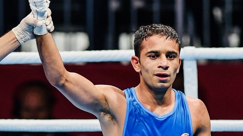 Boxing: Hussmuddin loses in quarter-finals, Sumit Sangwan in first round