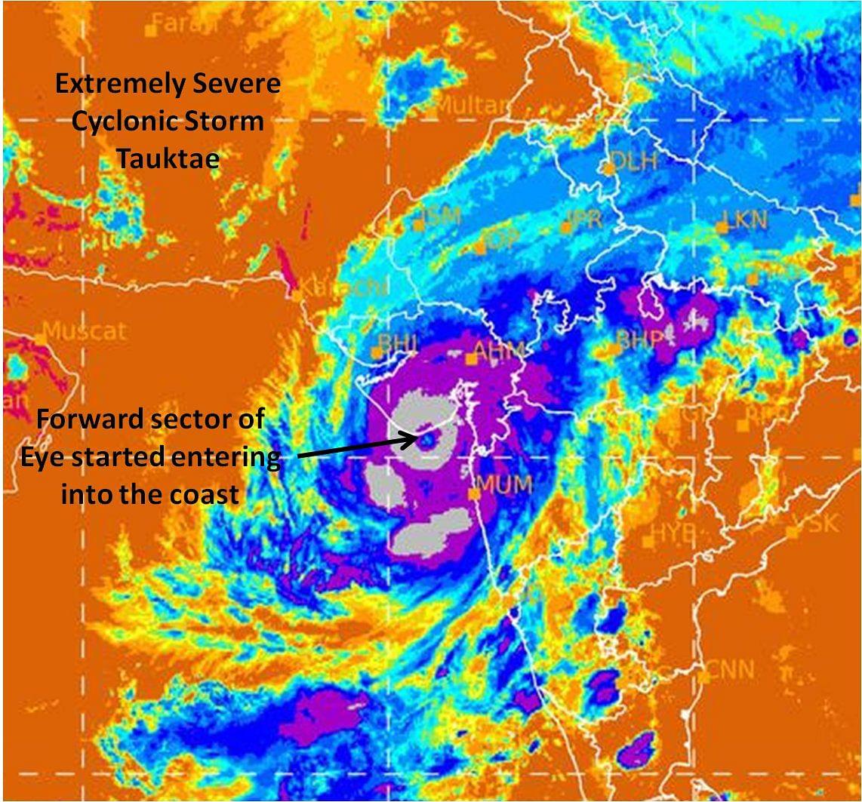 Cyclone Tauktae crosses Saurashtra coast in Gujarat, east of Diu