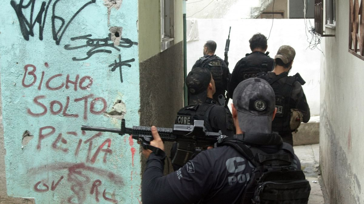 25 killed in Rio police operation against suspected drug traffickers