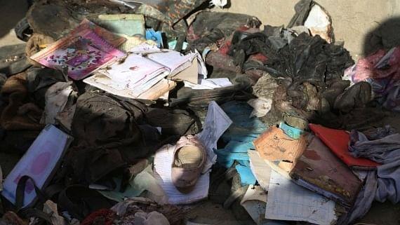 Toll from blasts near Kabul school reaches 50