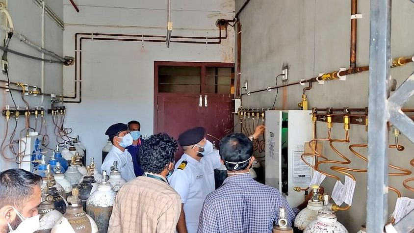 Indian Navy assists in conduct of Fire Safety Audit of all government hospitals in Kerala