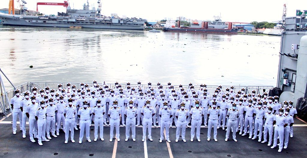 Indian Navy's 99th Integrated Officer Trainees Course concludes with Passing Out Divisions ceremony