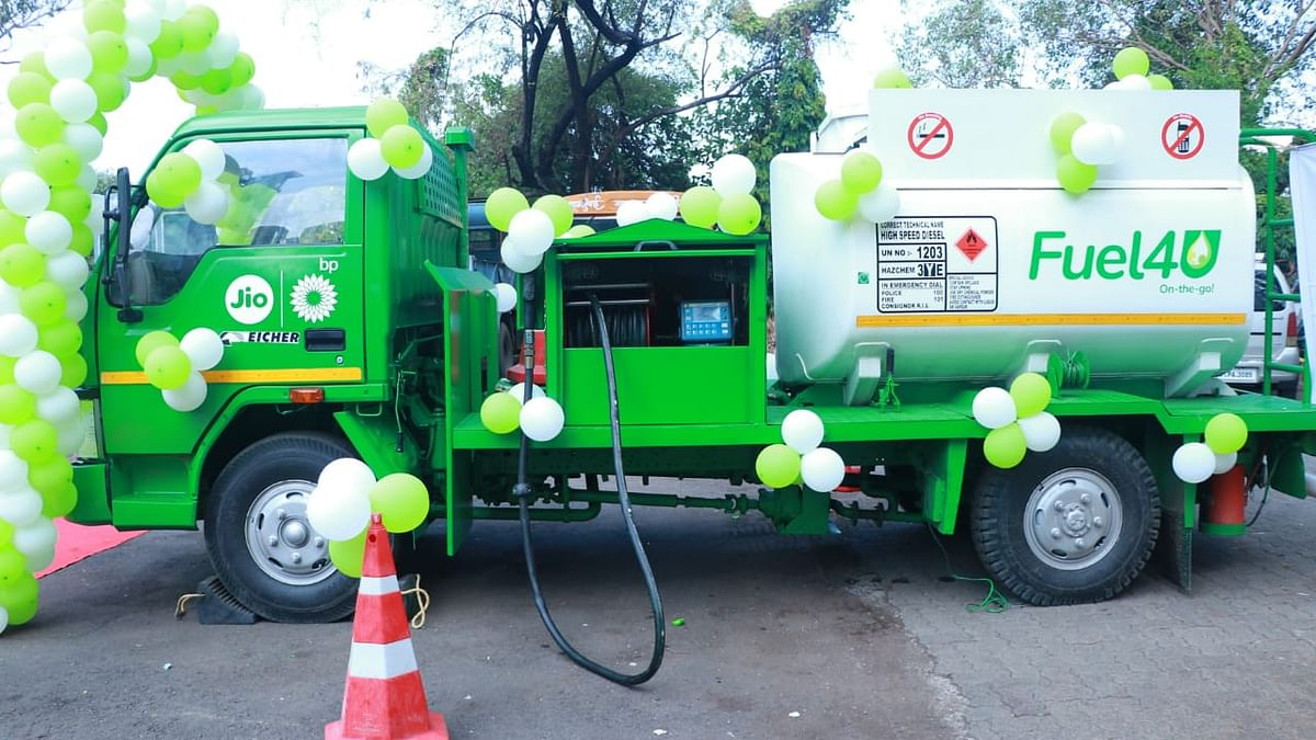 Reliance BP Mobility sets up Mobile Fuel Bowser in Mumbai to provide free fuel to COVID ambulances
