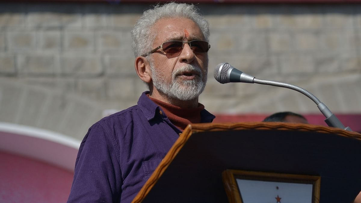 Actor Naseeruddin Shah admitted to hospital