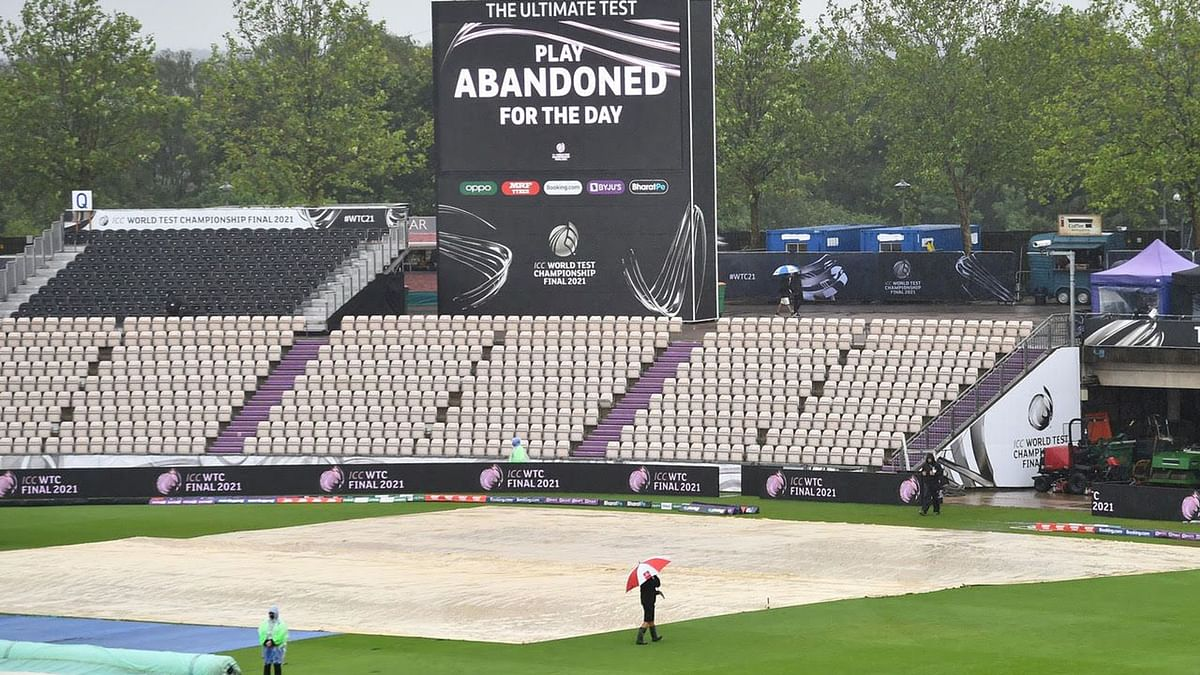 WTC Final: Teams unperturbed after rain washes out first day