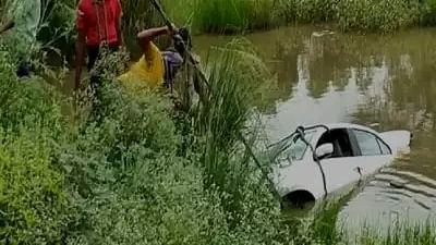UP: Six die as car falls into ditch in Balrampur district