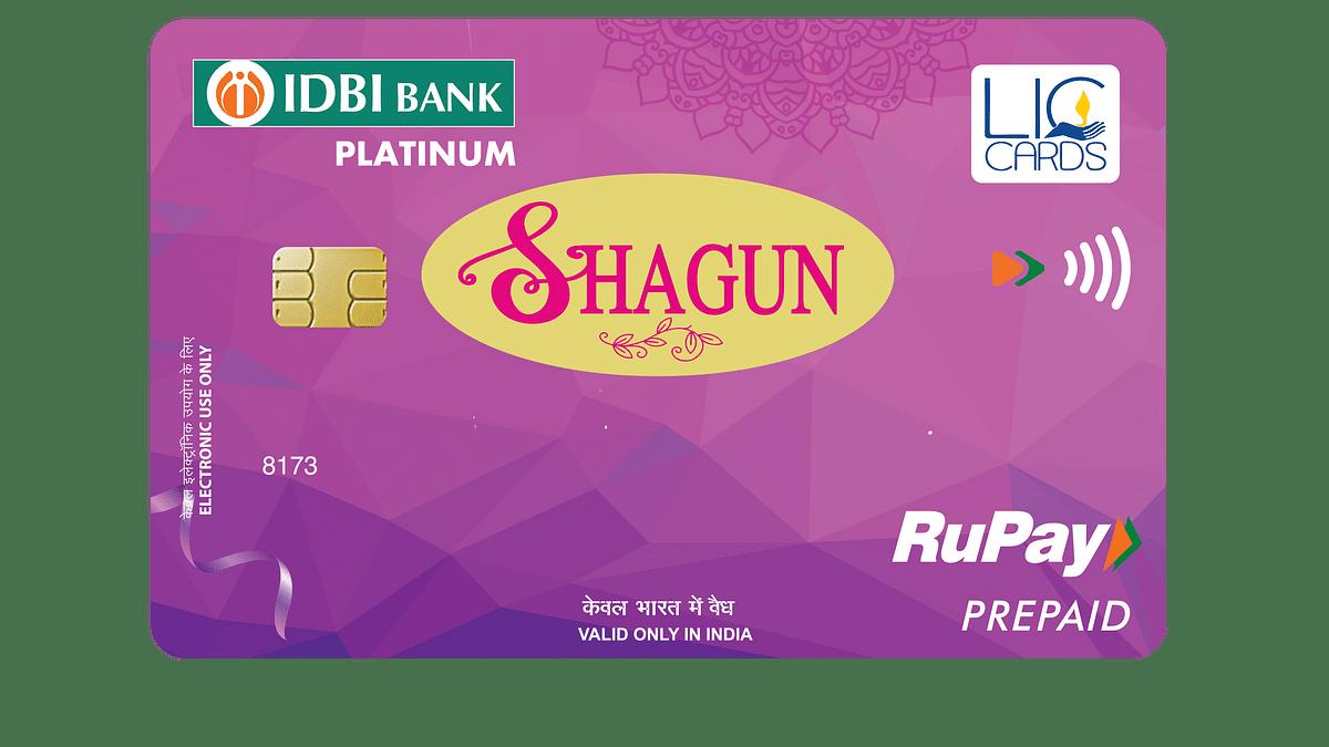 LIC CSL launches RuPay Prepaid Gift Card 'Shagun' powered by IDBI Bank