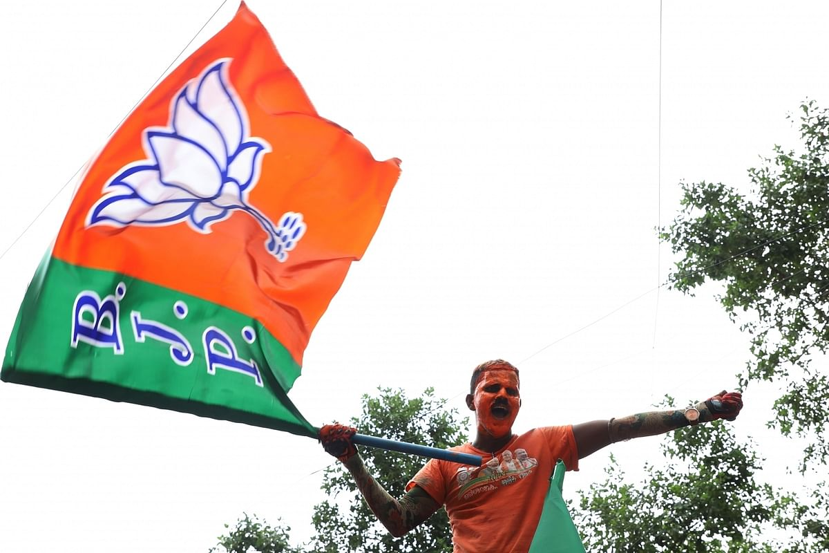BJP central leaders hold meetings in UP on handling of COVID crisis, preparedness for polls