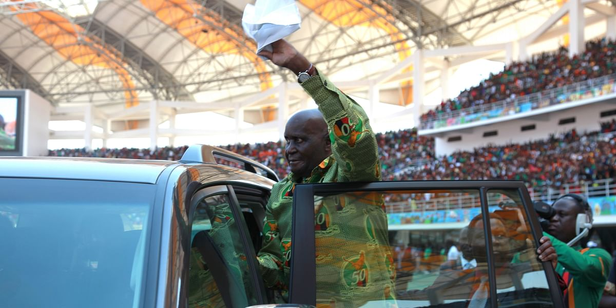 Zambia's first president Kenneth Kaunda dies at 97