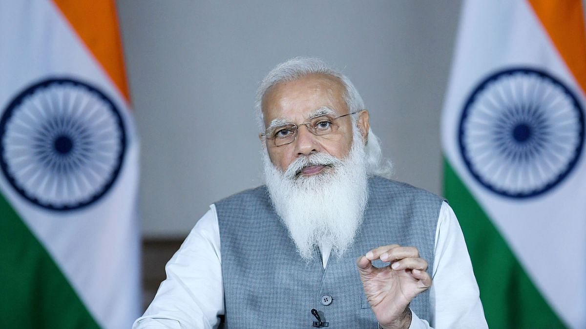 Modi reviews progress in COVID-19 vaccination, says important to carry momentum forward