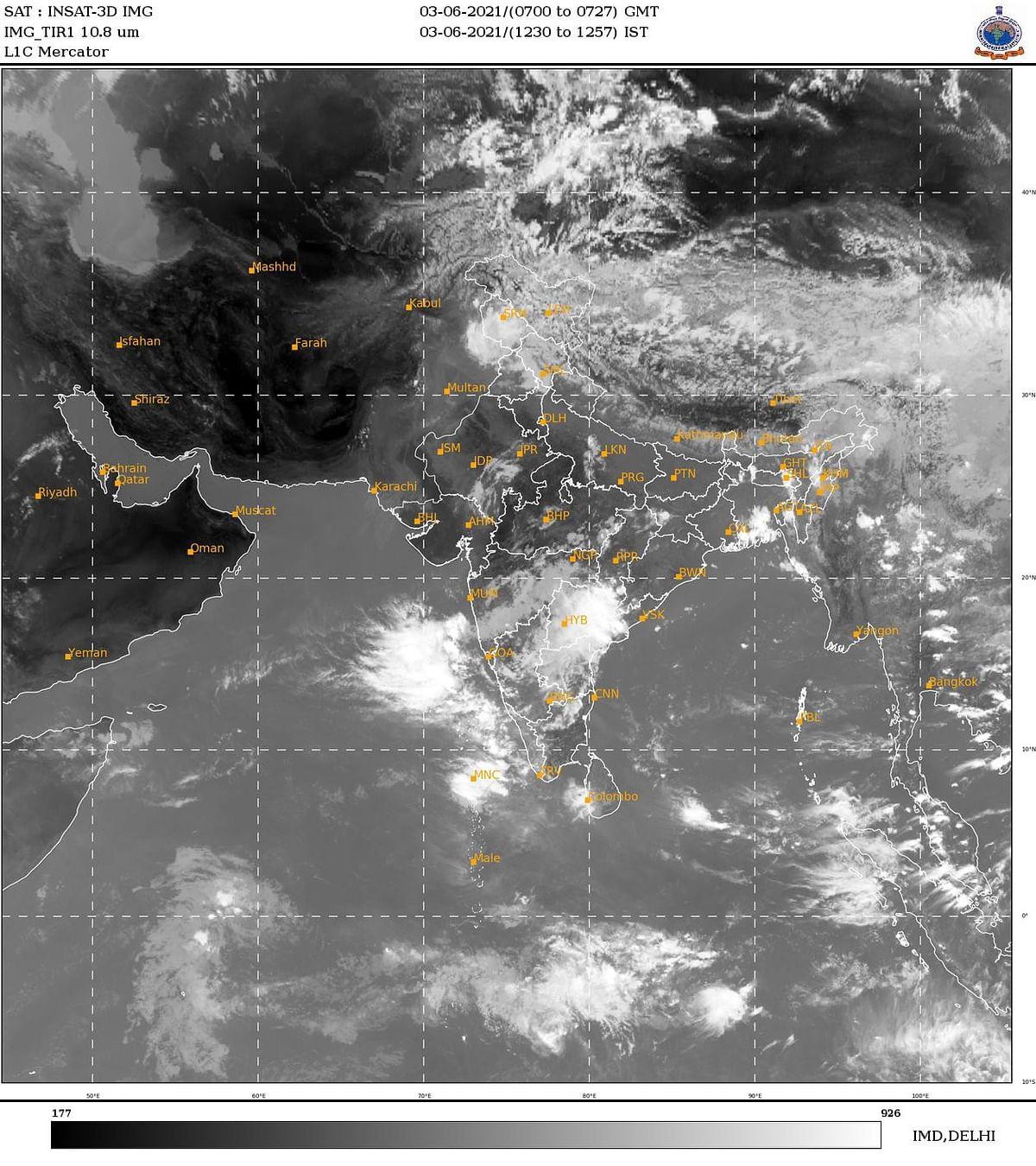 SouthWest monsoon sets in over Kerala