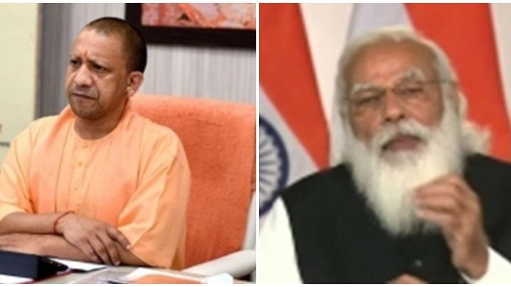 Yogi Adityanath meets Modi, apprises him of political situation in UP
