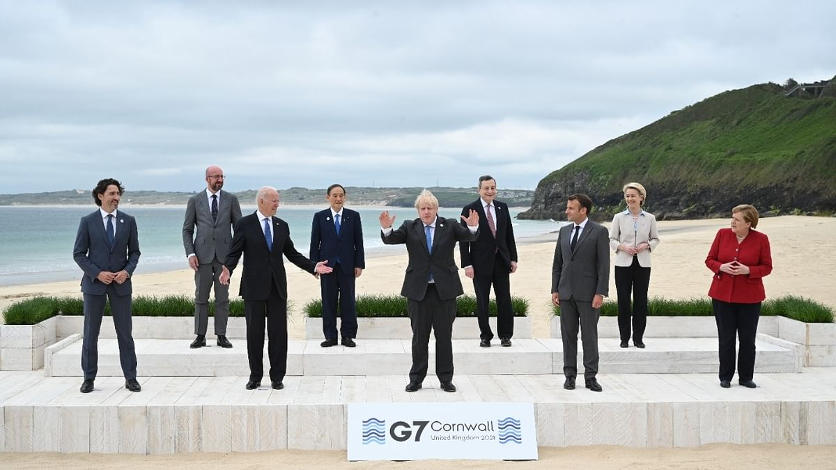 G7 announces pledges of 870 million COVID-19 vaccine doses, half to be delivered by 2021-end