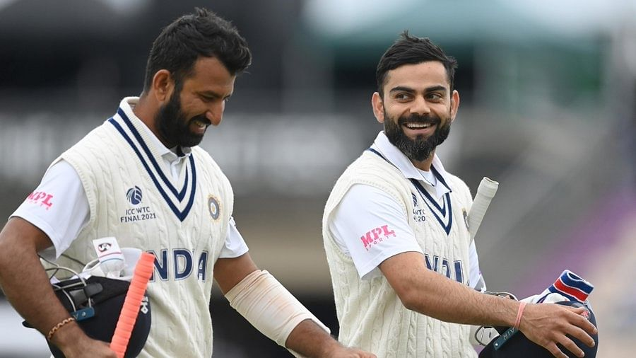 WTC final: Kohli holds on as India reach 120/3 at tea on Day 2 against England