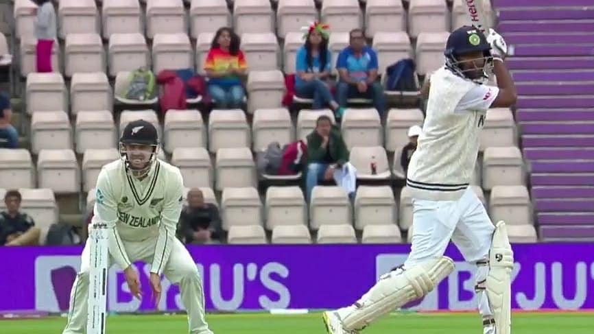 Indian tail's woes continue, add just 28 in 2nd innings against NZ in WTC final