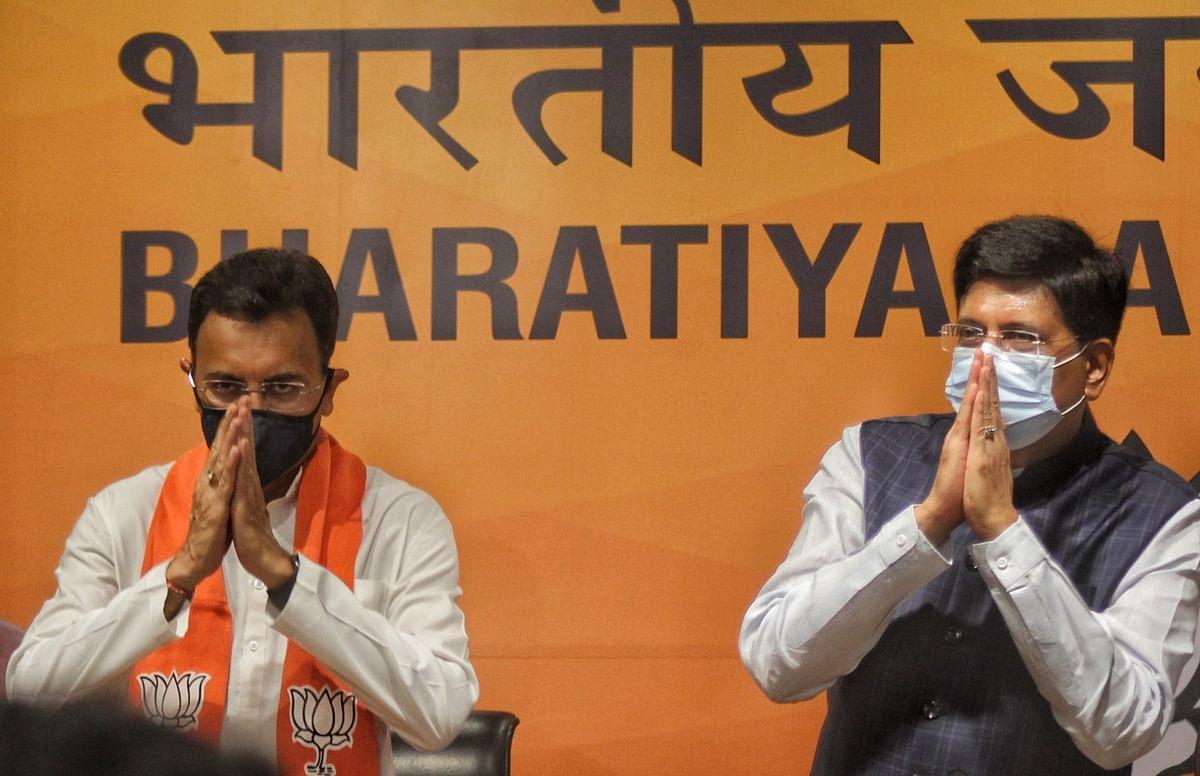 Big jolt for Congress as Jitin Prasada joins BJP