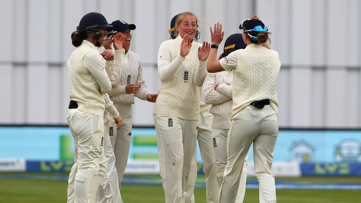 Women's one-off Test: Deepti keeps India afloat against England
