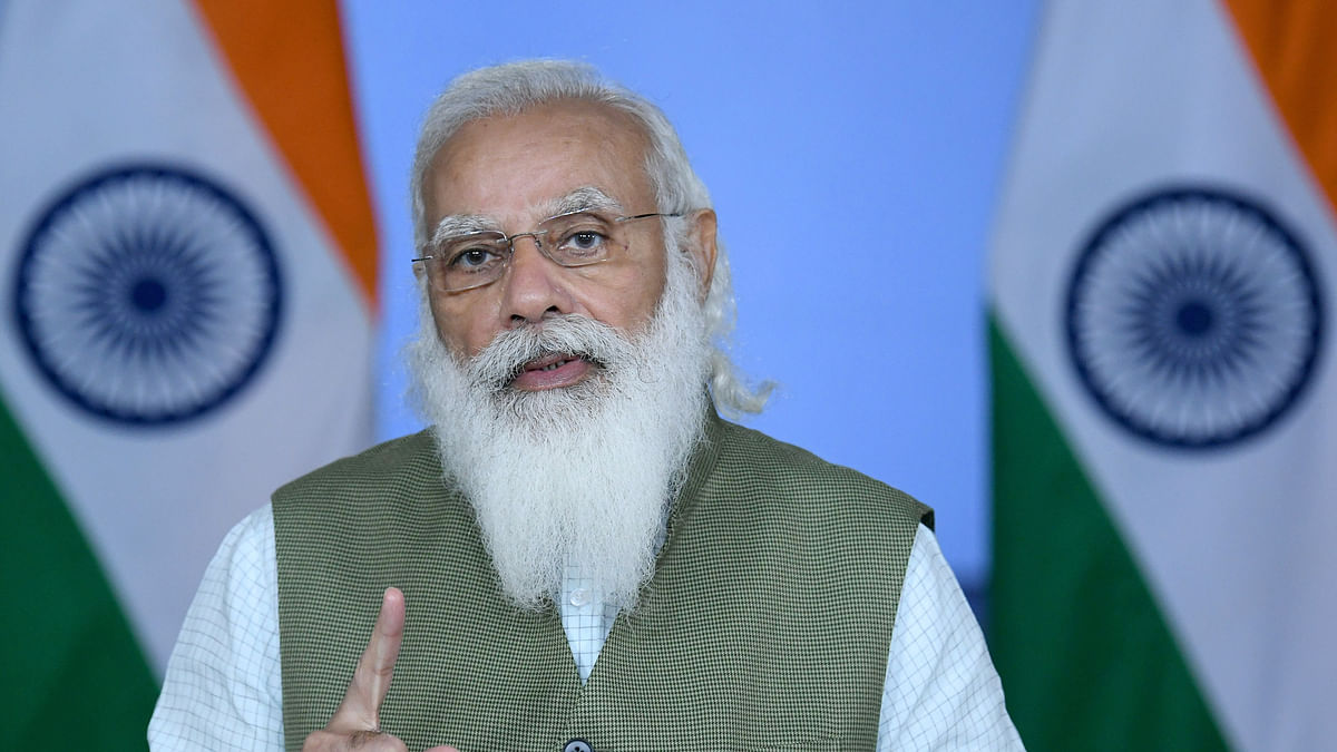 Modi calls for reducing pressure on land and its resources