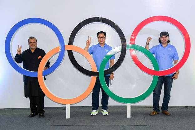 Rijiju launches official theme song for Indian Team to Tokyo Olympics