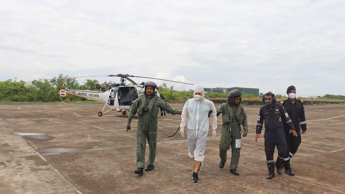 Coast Guard conducts swift medical evacuation of South Korean national off Goa
